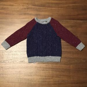 Cat and Jack Cable Knit Sweater. Boys 2T.